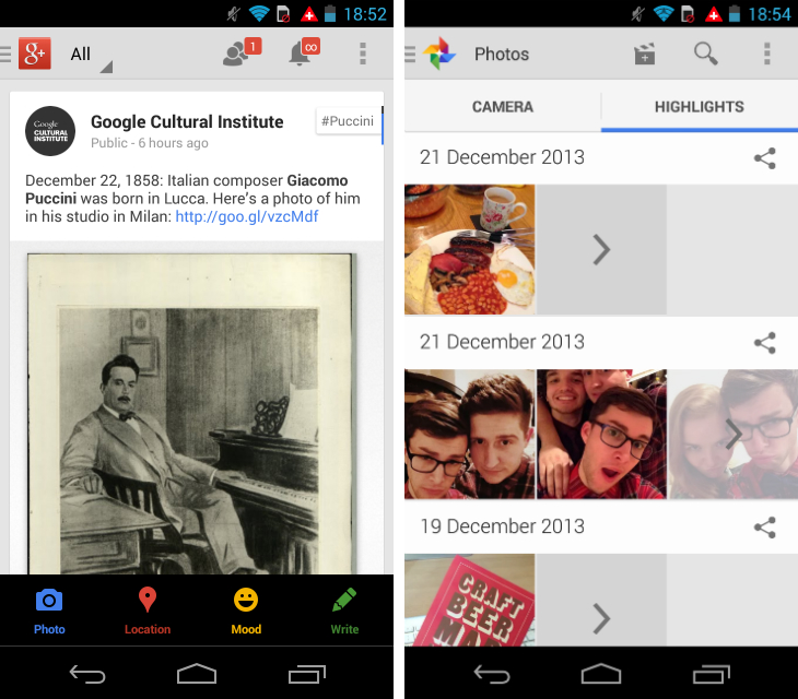 gplus1 So you've just got an Android device? Download these apps first
