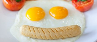 happy face breakfast