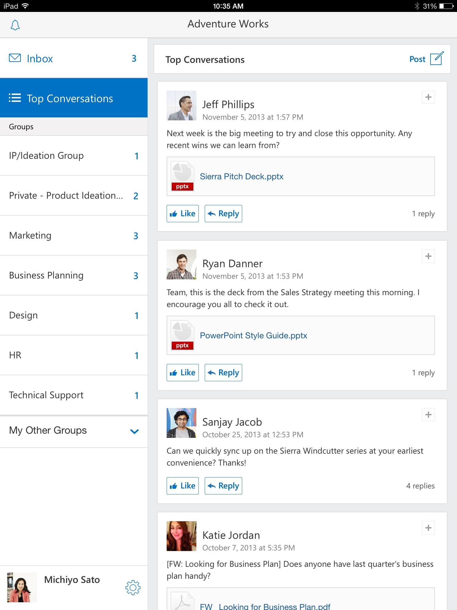 Microsoft S Yammer Updates All Its Apps