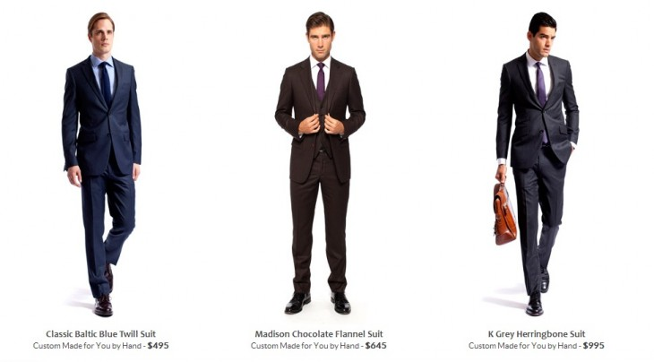 knotstandard3 730x404 Knot Standard lets you order tailored suits and menswear right from your computer