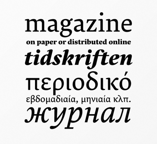 lava 520x477 The best typefaces of 2013