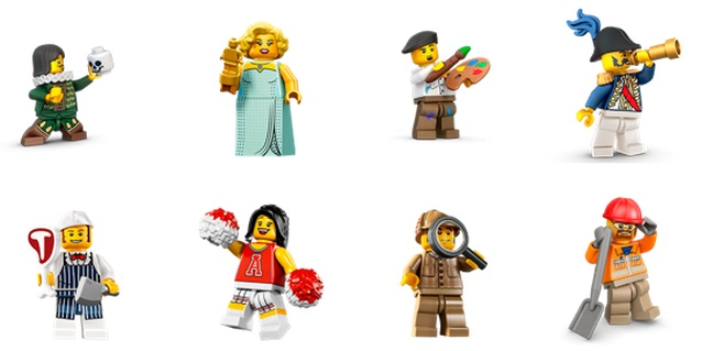 lego stickers 2 Facebooks latest stickers let you express yourself with Legos beloved minifigures