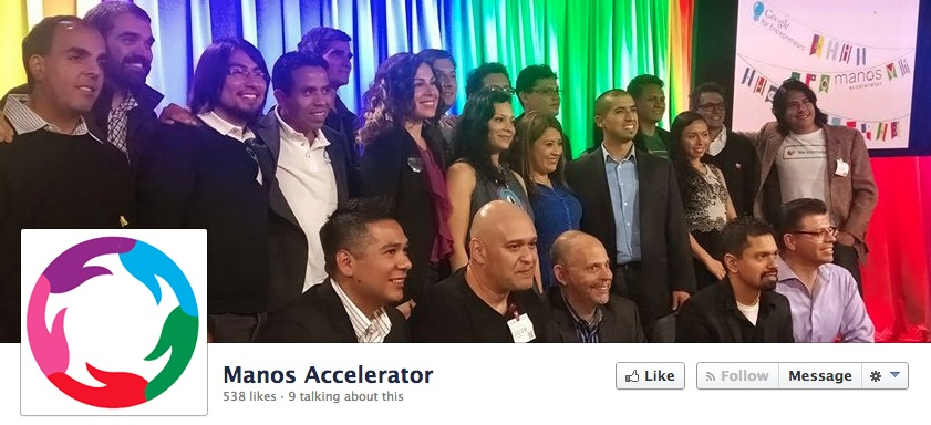 manos accelerator fb screenshot April in Latin America: All the tech news you shouldn't miss from the past month