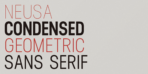 neusa The best typefaces of 2013