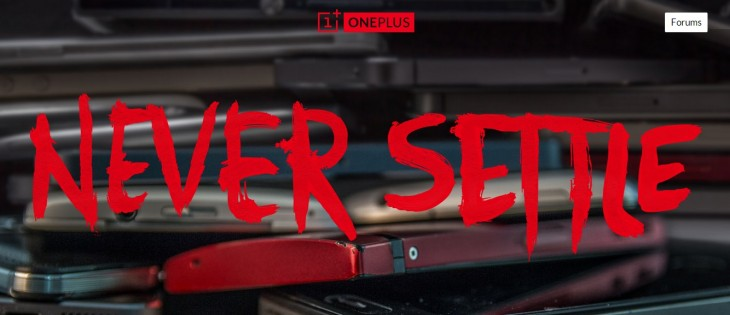oneplus 730x315 Newcomer OnePlus aims to disrupt the smartphone industry with truly outstanding devices