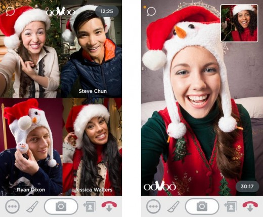 oovoo 520x428 10 video calling apps to connect you with family and friends this Christmas