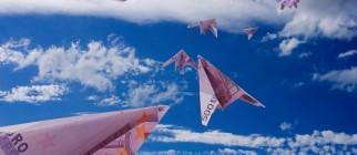 paper planes money