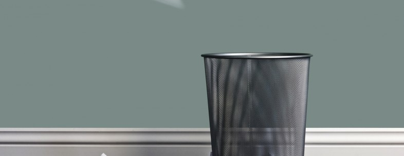 paper wastebin