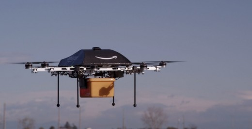 prime air high resolution02 520x267 Amazon plans to deliver packages via drones within the next 4 5 years [Video]