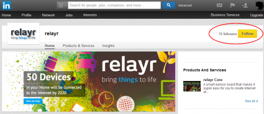 relayr Overview LinkedIn 520x224 Tags and hashtags: The ultimate guide to using them effectively