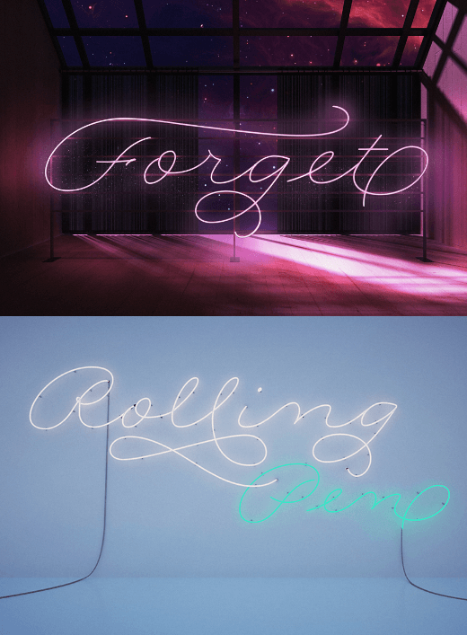 rolling pen The best typefaces of 2013