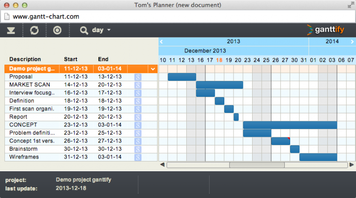 screenshot ganttify 730x407 The Ganttify Web app will turn your Google, Basecamp or Trello calendar into an embeddable chart