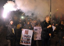 Kiev protests: A familiar image in the news