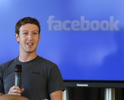 106890351 Mark Zuckerberg says the privacy phenomenon raised by Snapchat is important to Facebook