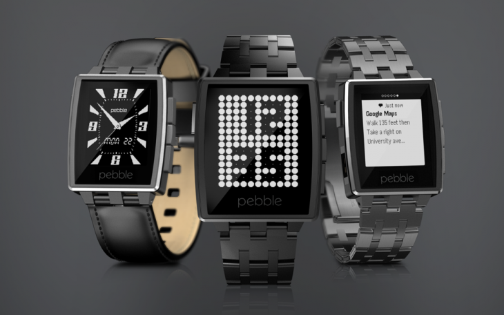 140106C.Steel Trio 1024x640 730x456 Pebble unveils new app store and premium Steel smartwatch for $249