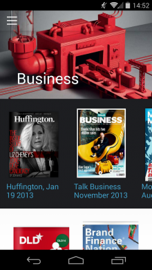 2014 01 21 14.52.21 220x391 Issuu launches its first mobile app, bringing its library of publications to Android