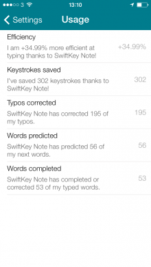 2014 01 30 13.10.36 220x390 SwiftKeys smart keyboard hits iOS in a simple note taking app that syncs with Evernote
