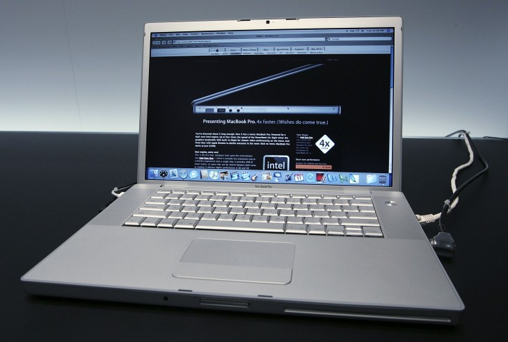 24 macbookpro 730x492 30 years in 33 photos: A visual history of the Apple Mac