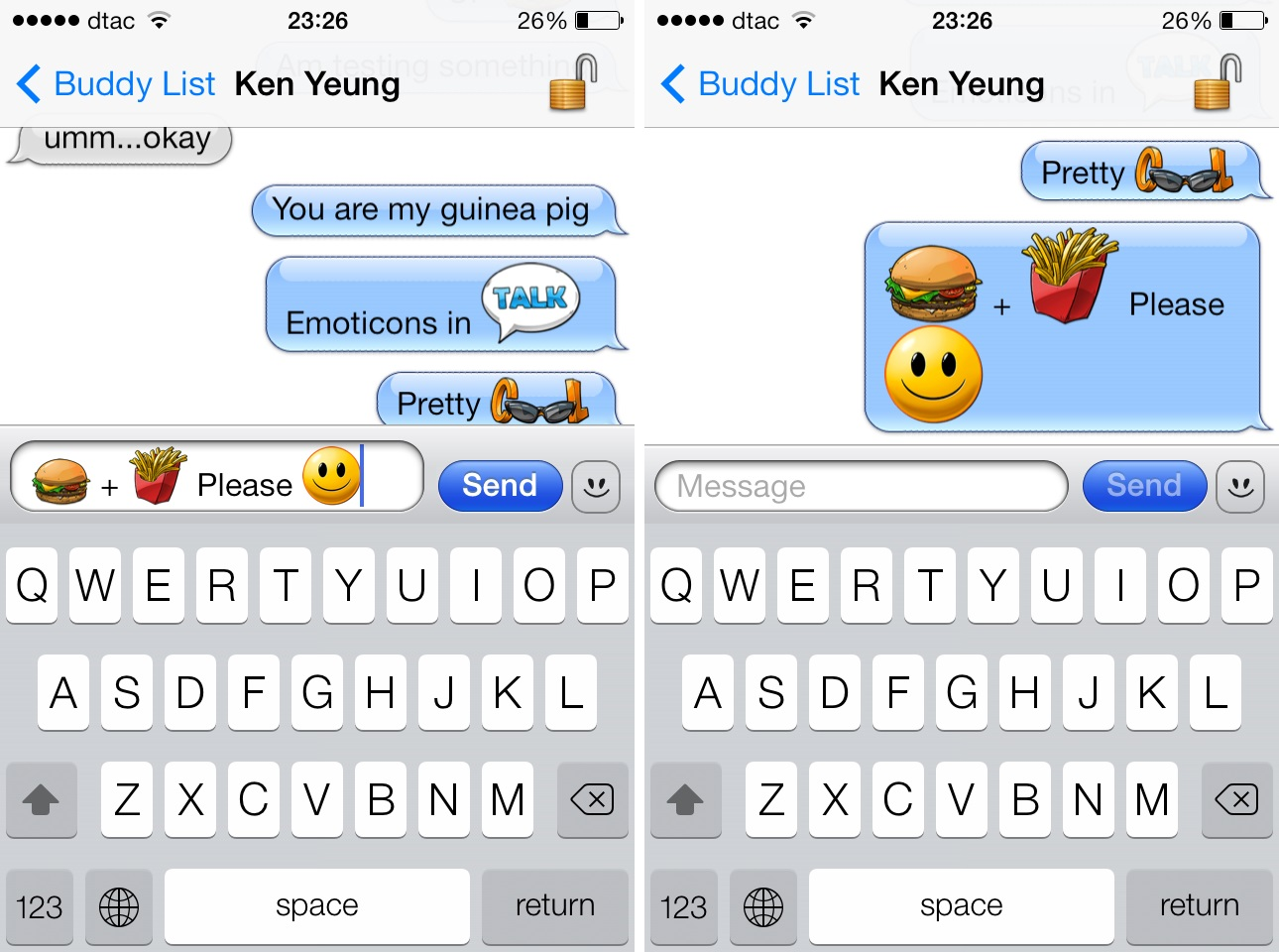3 Aniways intelligent emoji system helps you pick stickers and emoticons as you type