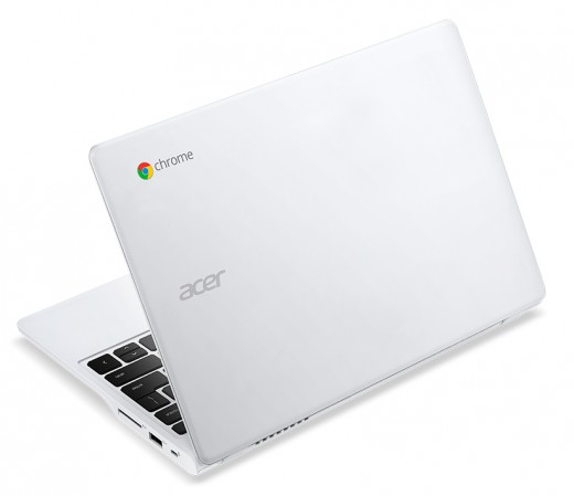 Acer C720P Chromebook white touch rear left angle 520x449 Acer unveils two new sub $200 Android tablets, a $1099 desktop, and an updated C720 Chromebook