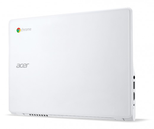 Acer C720P Chromebook white touch standing closed 520x435 Acer unveils two new sub $200 Android tablets, a $1099 desktop, and an updated C720 Chromebook