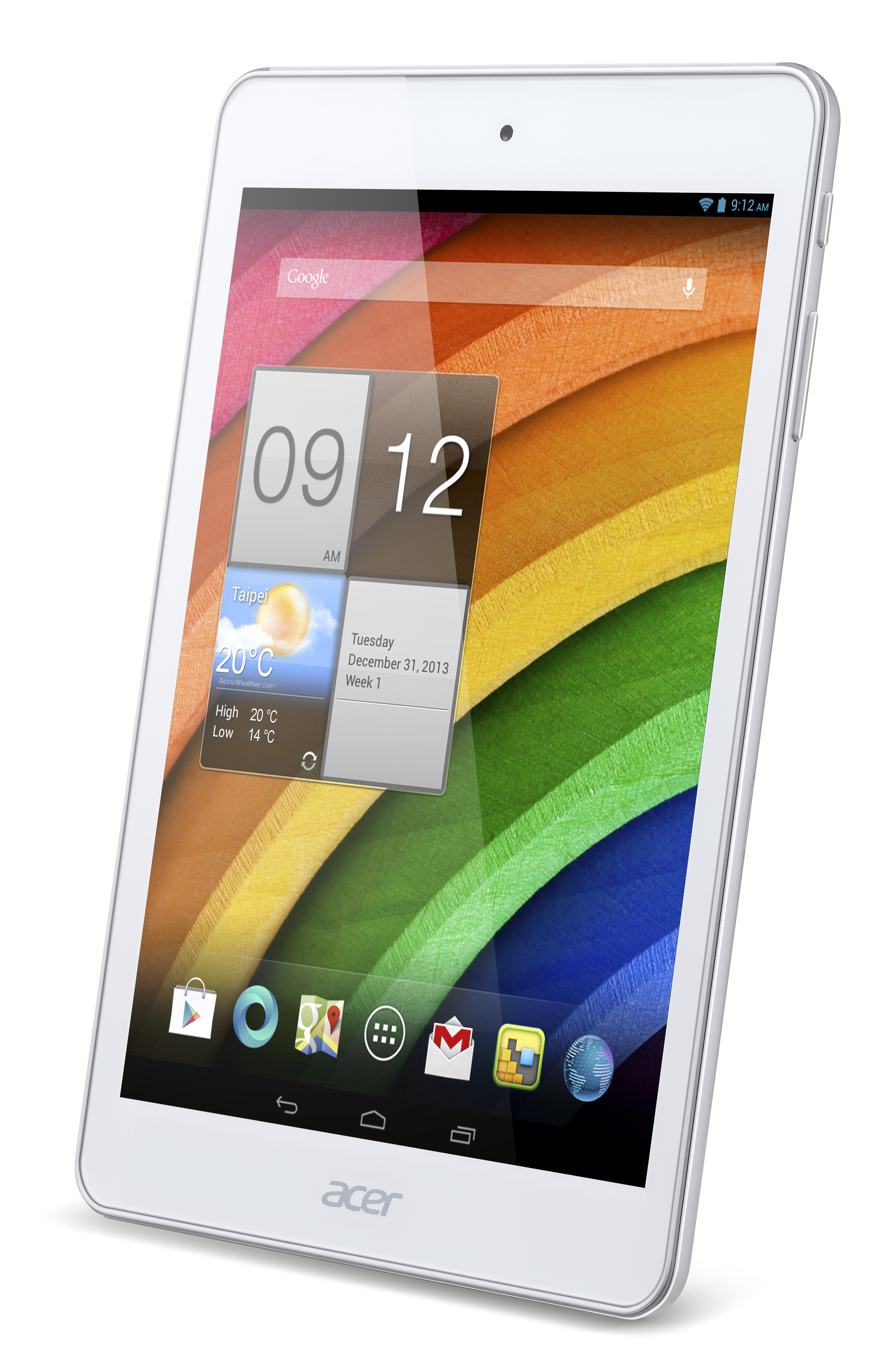 Acer Iconia A1-830 left angle