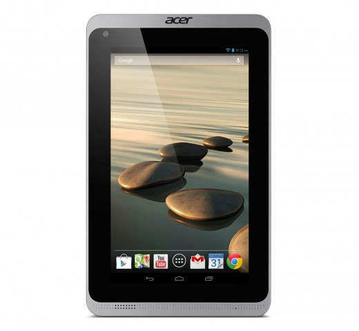 Acer Iconia B1 720 straight iron gray 520x479 Acer unveils two new sub $200 Android tablets, a $1099 desktop, and an updated C720 Chromebook