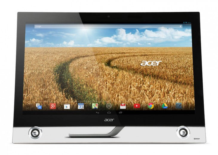 Android Acer 730x519 Acer unveils two new sub $200 Android tablets, a $1099 desktop, and an updated C720 Chromebook