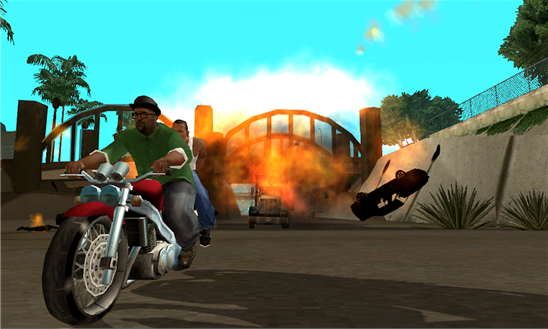 GTA You can now play Grand Theft Auto: San Andreas on Windows Phone 8