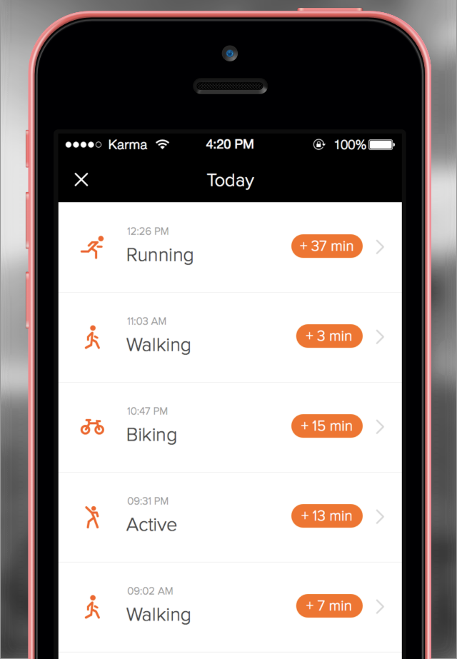 Human activity Human for iPhone now tracks your every move, even when stationary