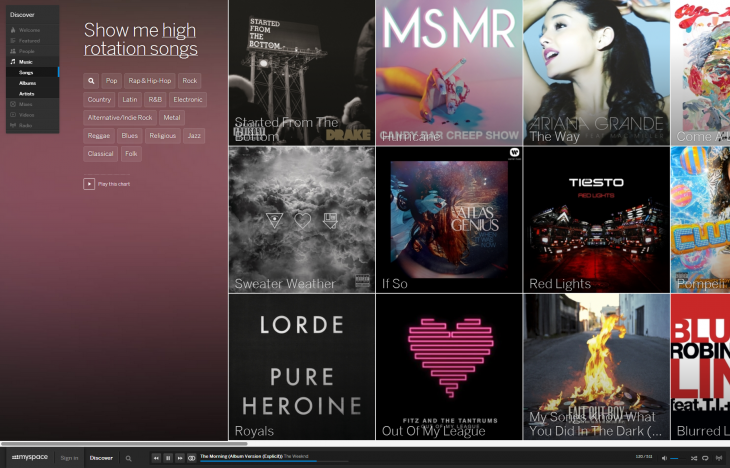 MySpace 730x468 15 of the best music streaming platforms online today. Which one is best for you?