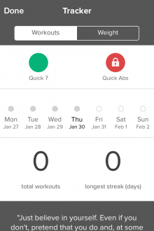 Photo 30 01 2014 17 23 291 220x330 Quick Fit for iPhone brings more than the 7 Minute Workout to your home