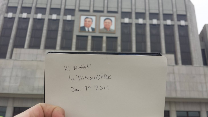 Reddit Bitcoin 730x410 North Korea may have seen its very first Bitcoin transaction this month
