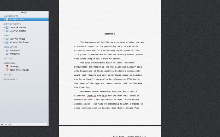 Screen Shot 2014 01 15 at 17.27.09 730x456 10 of the best word processing apps for Mac