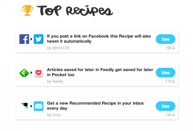 Screen shot 2014 01 10 at PM 01.15.56 730x498 IFTTTs top recipes of 2013 will inspire you to get creative on the automation service