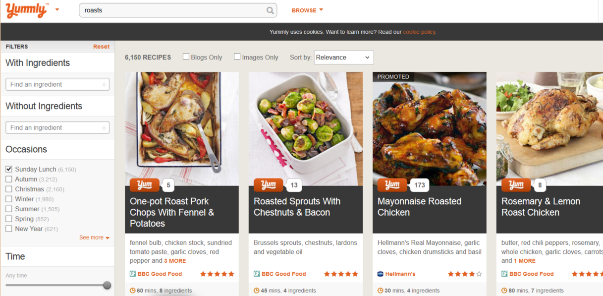 Food for thought: Yummly now caters for UK palates with tailored recipe platform