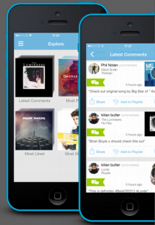 Soundwave 220x319 Soundwaves music discovery platform gets more social with new comments and hashtagging feature