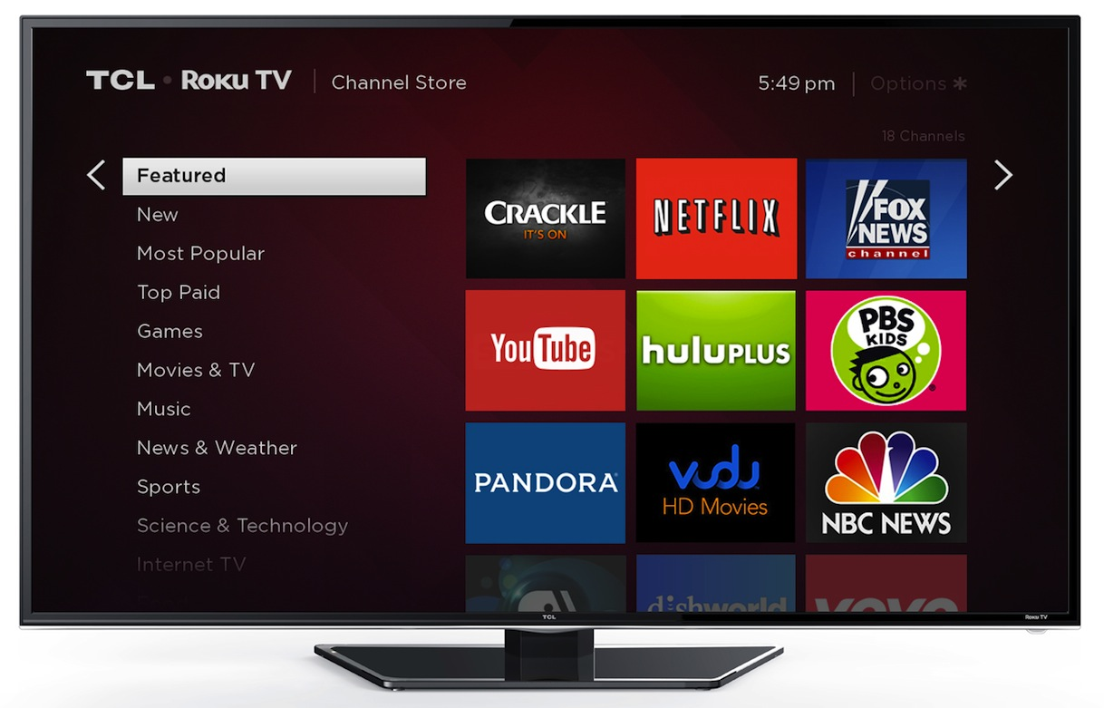 Roku Announces The Roku Tv To Ship This Fall