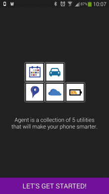a1 220x391 Agent, the 5 apps in 1 smart assistant for Android, goes free
