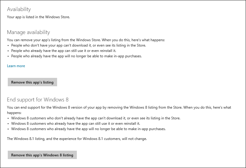 blog availability 64D26A75 Windows Store gets option to set apps release time, availability management, and simplified requirements