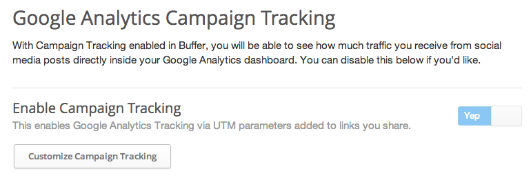 ga bufer Buffer for Business gets Google Analytics integration, follower growth tracking, export option, and more