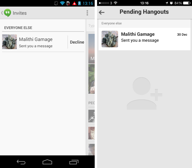 hangouts1 Google, this is the wrong way to build brand loyalty for Google+