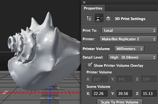 ps cc jan 3D printing 552x364 520x342 Adobe introduces support for 3D printing to Photoshop, brings a glut of new features to its Creative Cloud apps