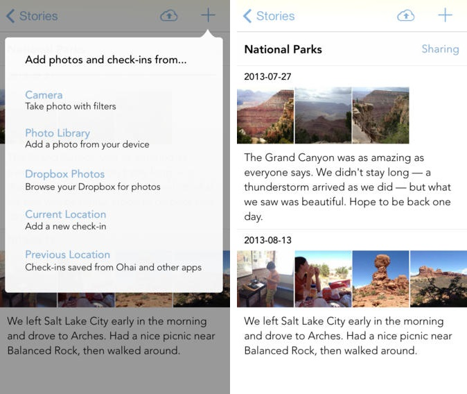 sunlitx1 Photo journaling app Sunlit no longer requires an App.net account