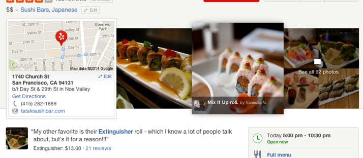 Yelp puts photos front and center with new design