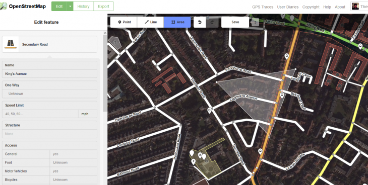 Area OSM1 730x368 The rise of OpenStreetMap: A quest to conquer Googles mapping empire