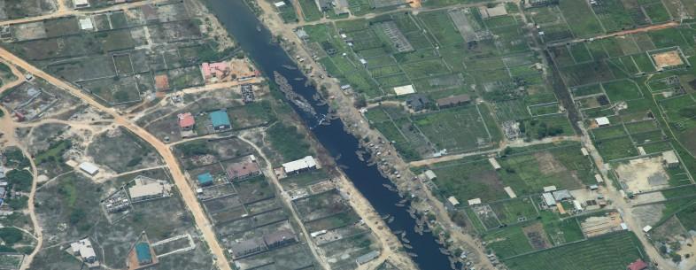 Lagos river Nigeria