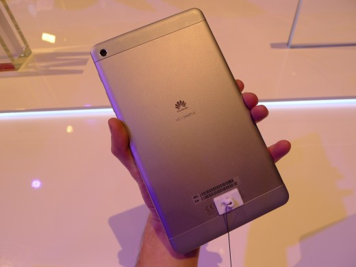 P1040977 520x390 Huawei launches pocket friendly MediaPad X1 and M1 Android tablets at MWC 2014