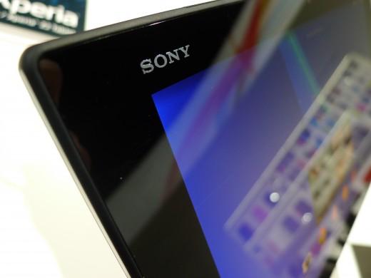 P1050237 520x390 Sony Xperia Z2 Tablet hands on: A remarkably slim, light and powerful 10.1 inch Android slate