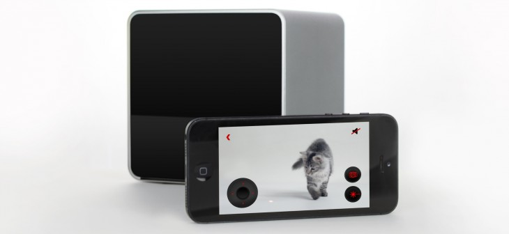 Petcube and app 730x336 Life after Kickstarter: How Petcube is preparing its pet focused gadget for the mass market